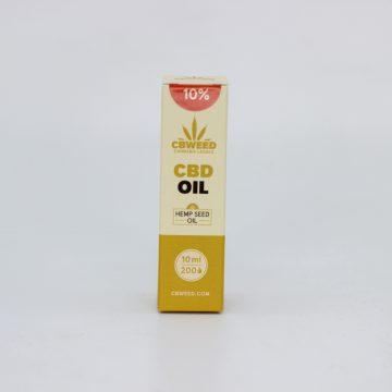 Olio CBD con Olio di Semi di Canapa – 10% CBD – 10ml