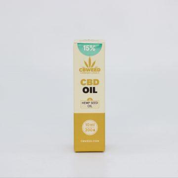 Olio CBD con Olio di Semi di Canapa – 15% CBD – 10ml