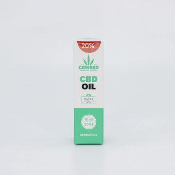 Olio CBD con Olio d'Oliva – 20% CBD – 10ml