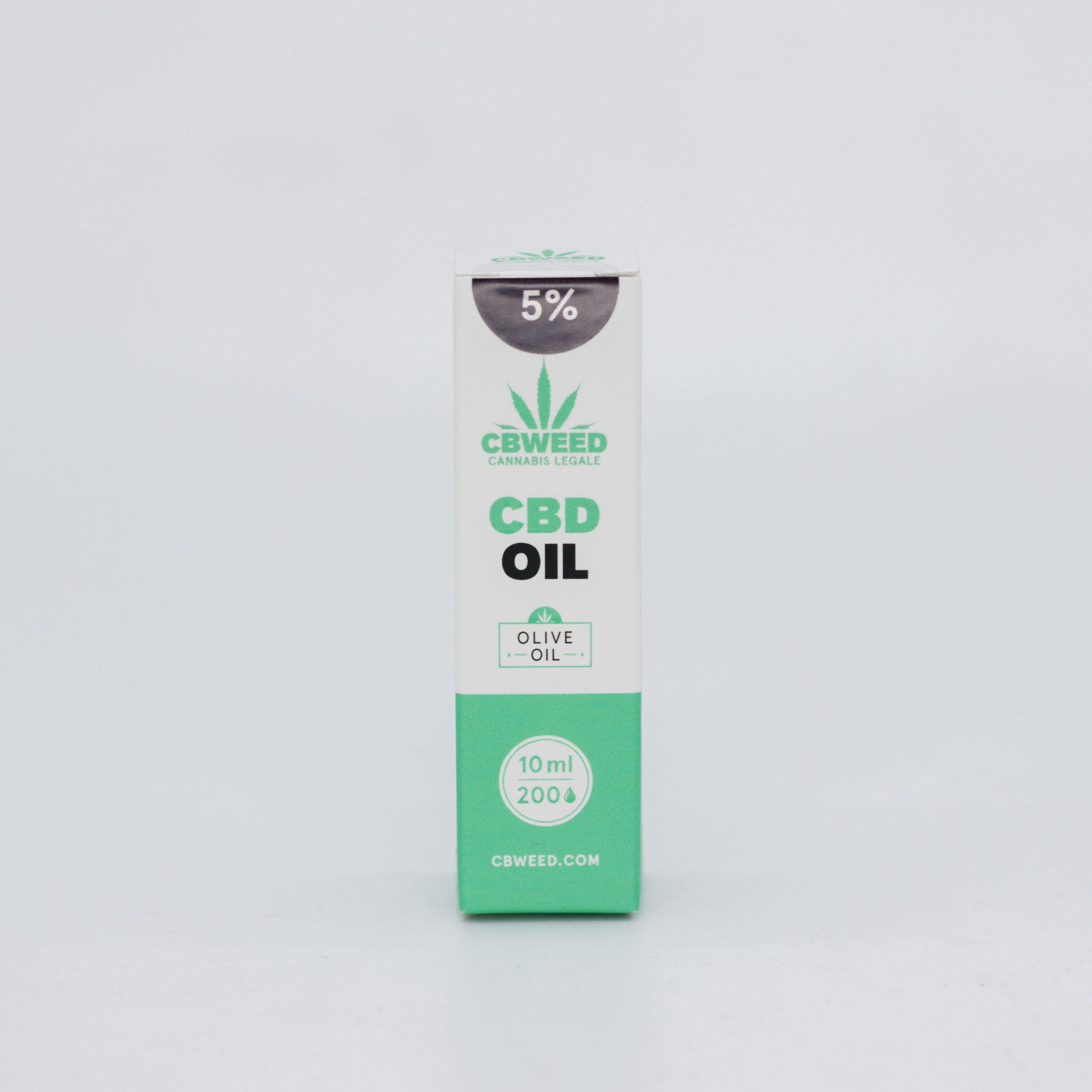 5� olio Oliva scaled - Olio CBD con Olio d'Oliva - 5% CBD - 10ml