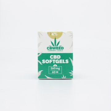 Capsule Softgel CBD – 4% CBD