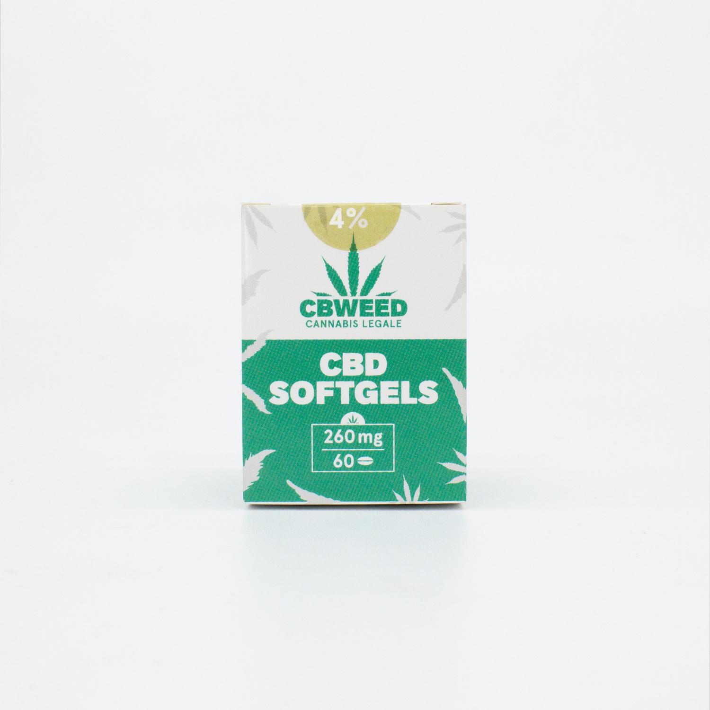 CBD capsule 01 web - Capsule Softgel CBD - 4% CBD