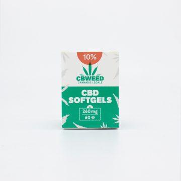 Capsule Softgel CBD – 10% CBD