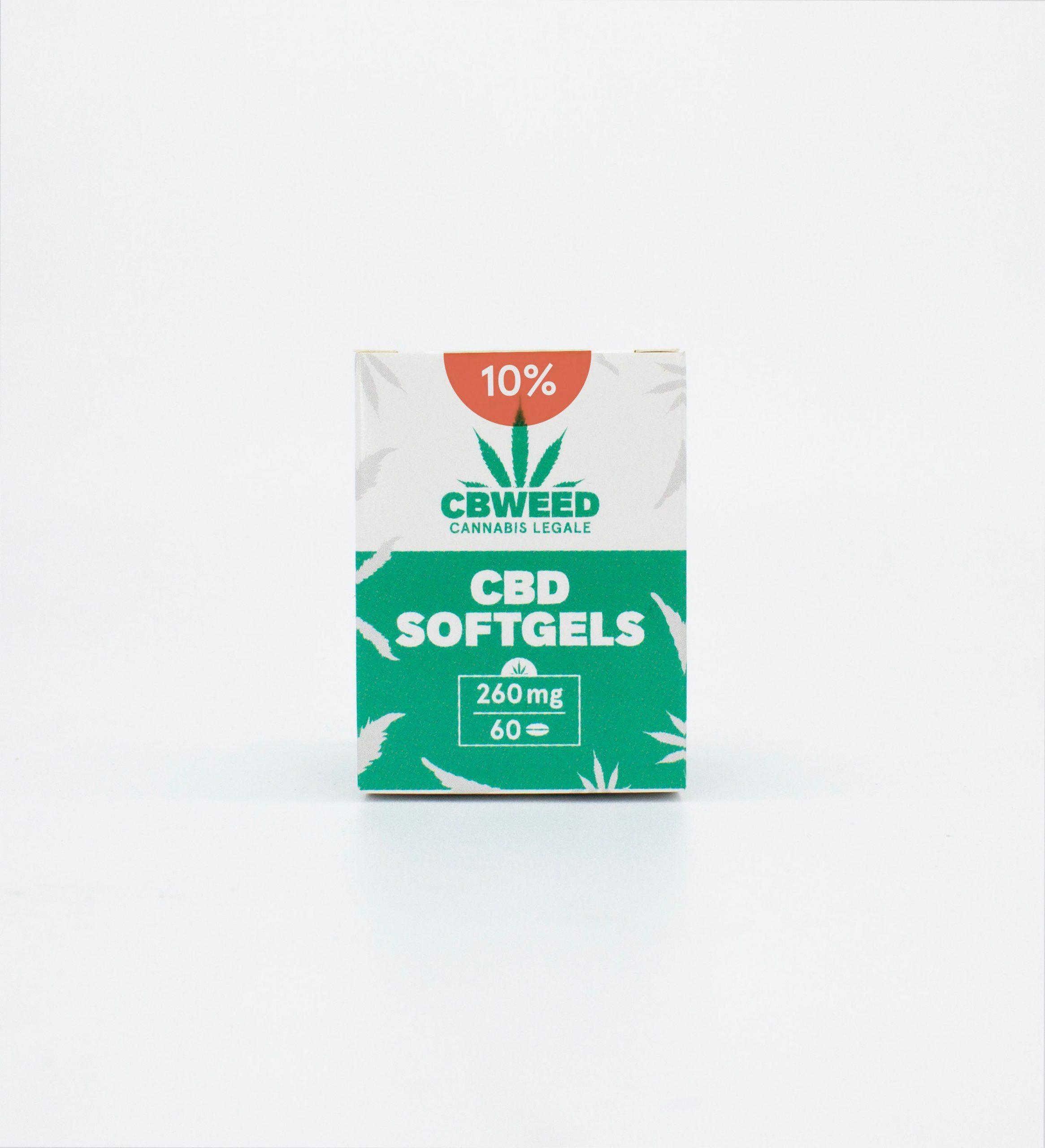 CBD capsule 03 scaled - Capsule Softgel CBD - 10% CBD