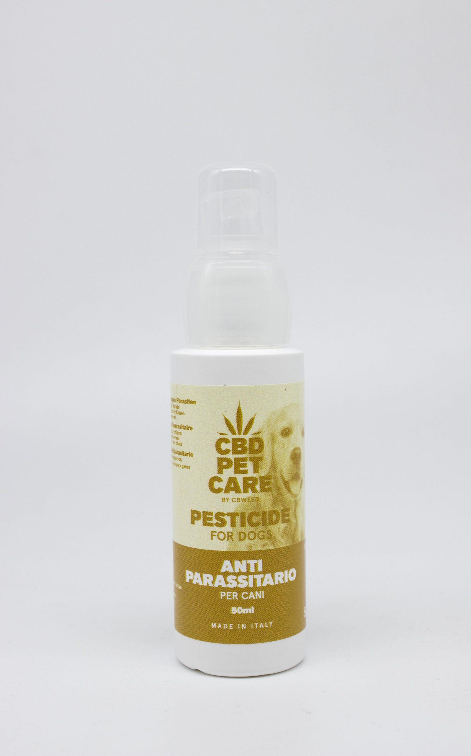 Pesticida Cani scaled - Antiparassitario Spray per Cani - 50ml