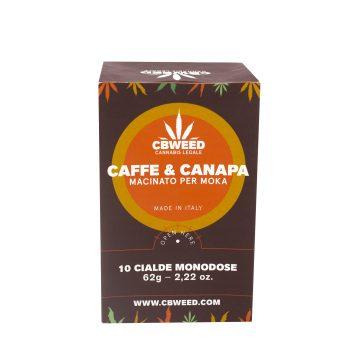 Caffe & Canapa – 10 Cialde Macchinetta