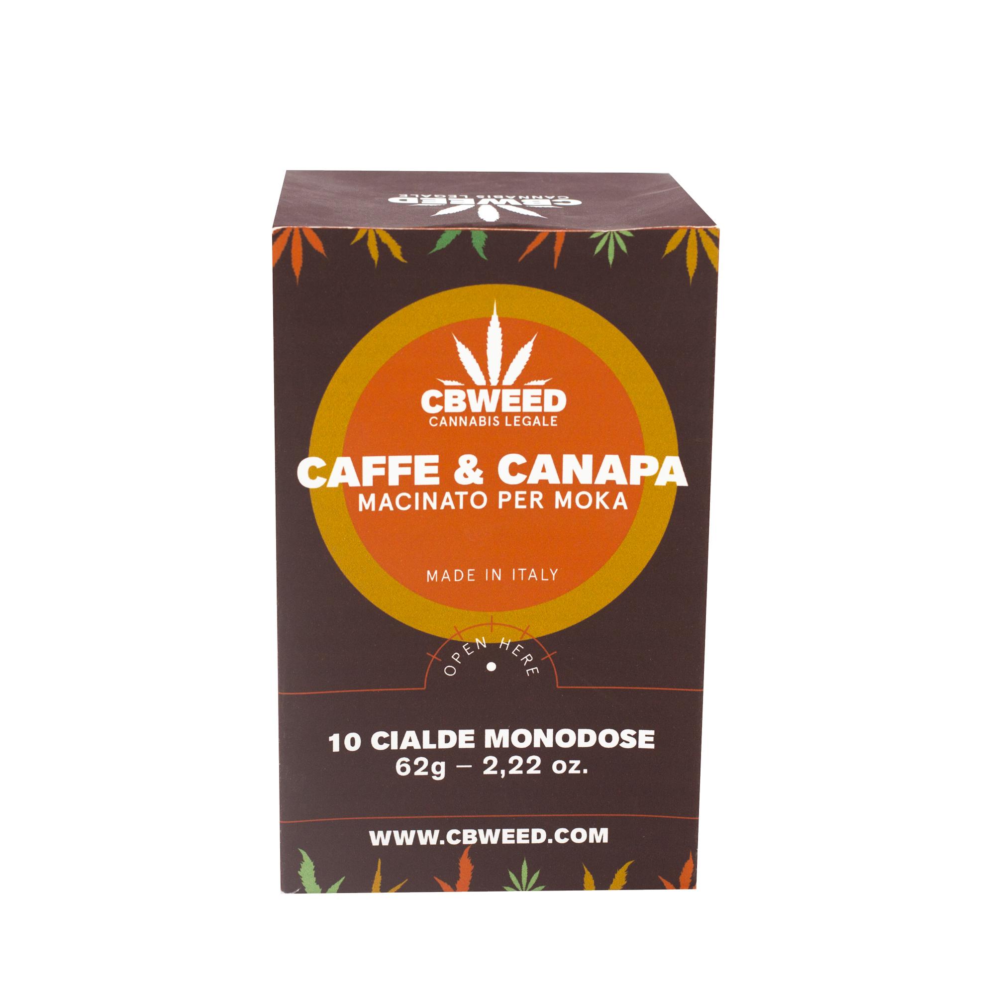 caffè blister - Caffe & Canapa - 10 Cialde Macchinetta