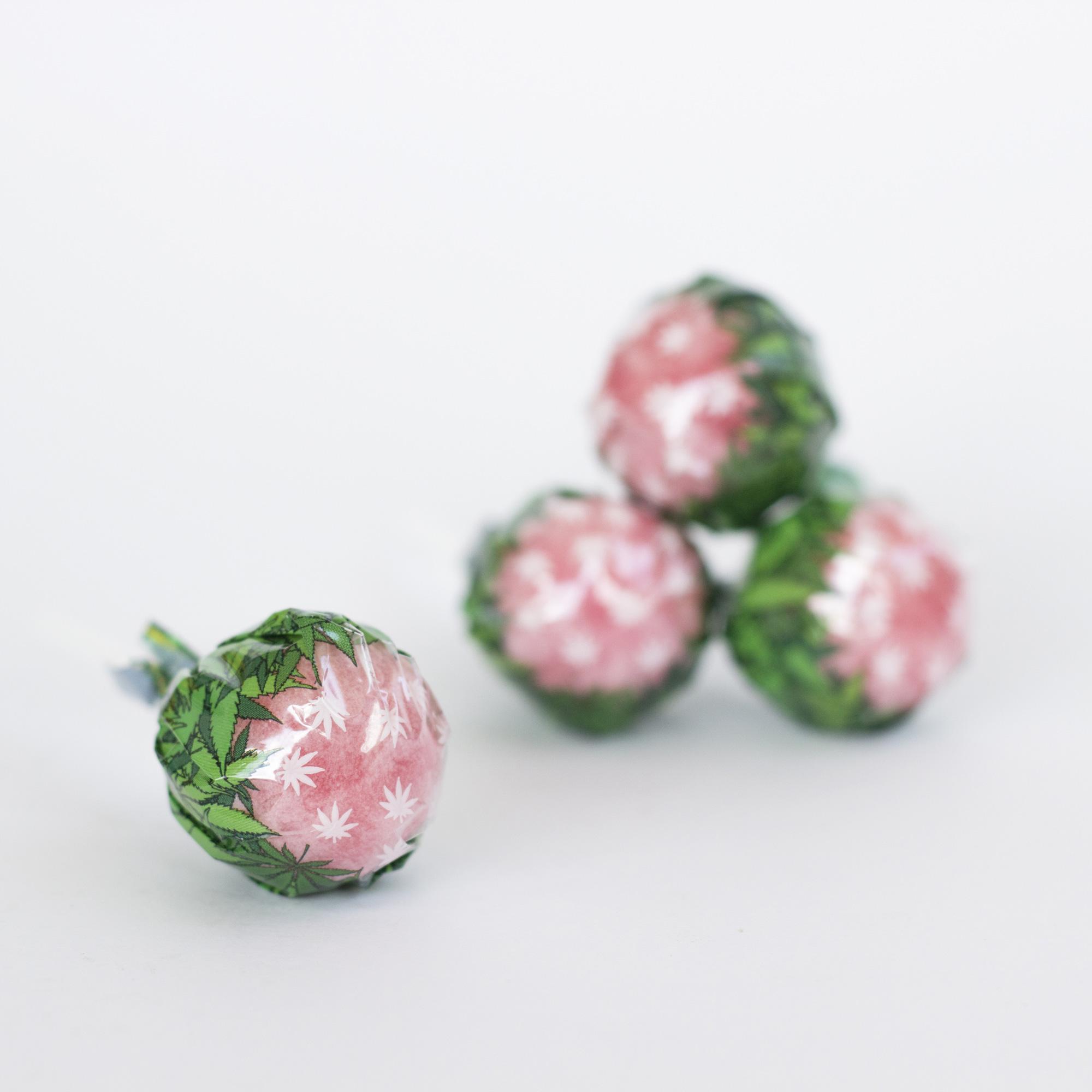 lollipop straw - Lollipop - Strawberry