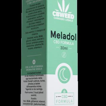 Meladol – CBD + Melatonina – Regolatore del Sonno