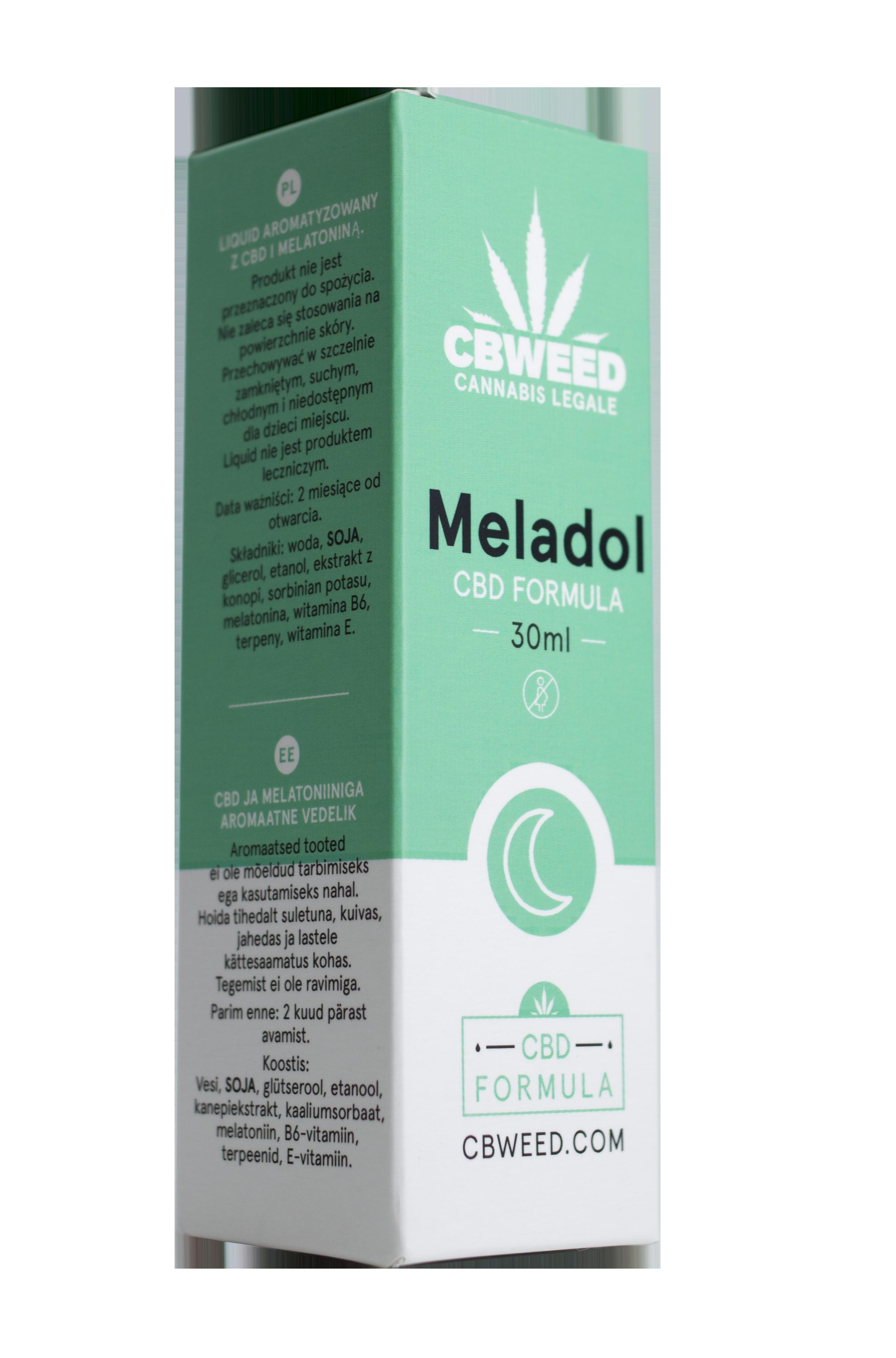 meladol - Meladol - CBD + Melatonina - Regolatore del Sonno